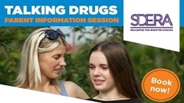Talking Drugs parent workshop image of mother and daughter