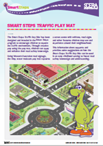 Traffic Play Mat Information sheet image