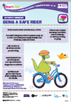 Rider safety key message image