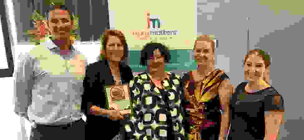 CHAT WINS INJURY PREVENTION AWARD