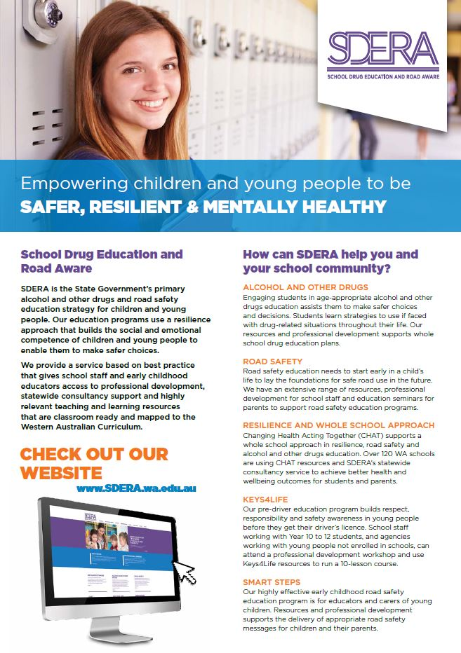 How can SDERA help you and your school community?
