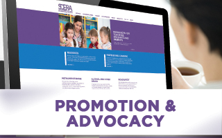 Promotion and advocacy