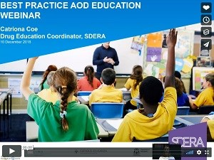 Thumbnail image of Best Practice AOD Education webinar video