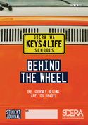 Behind the Wheel orange cover image
