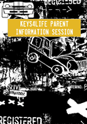 Cartoon cars image - parent information session