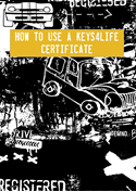 Cartoon cars image - how to use a K4L certificate